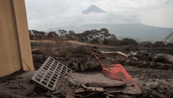 Erupción del Volcán de Fuego causó pérdidas por 219 mdd