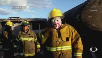Mueren cuatro bomberos tras explosiones en Tultepec