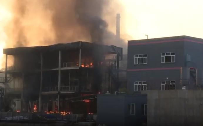 Image result for Explosión en parque industrial de China provoca 19 muertes