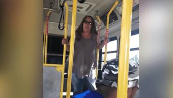 Ataque Racista Autobus Estados Unidos, Ataque Racista, Mujer Racista, Nueva York, Orangetown