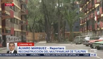 Multifamiliar Tlalpan Espera Reconstrucción
