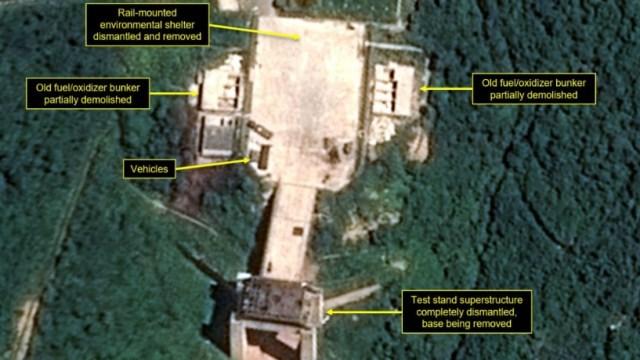 Norcorea desmantela instalaciones motores misiles balísticos