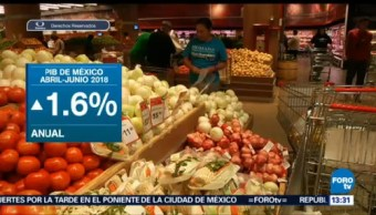 Pib México Disminuye 0.1% Segundo Trimestre Inegi