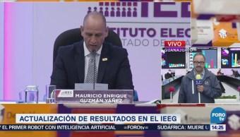 Prep Guanajuato Confirma Tendencia Favor Diego Sinhué