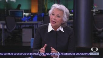 Olga Sánchez Cordero, próxima secretaria de Gobernación, en 'Despierta'