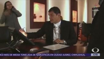 Ordenan prisión preventiva para el expresidente Rafael Correa