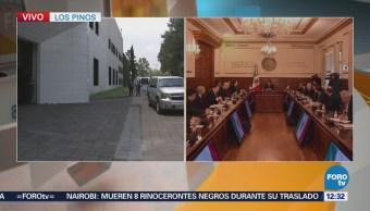 Concluye reunión entre Mike Pompeo presidente Peña Nieto