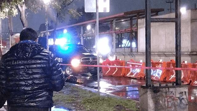 Pasajero de microbús dispara contra ladrón en Iztacalco