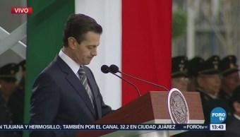 Peña Nieto Inaugura Instalaciones Escuela Militar Ingenieros