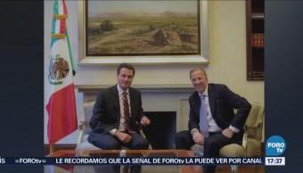 Peña Nieto Reúne José Antonio Meade CDMX
