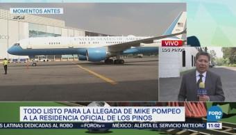 Peña Nieto será acompañado por el canciller Videgaray