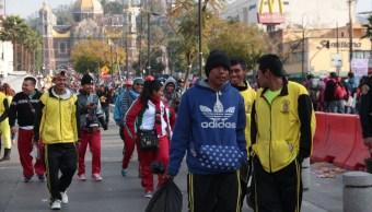 Reportan saldo blanco en peregrinación de Querétaro