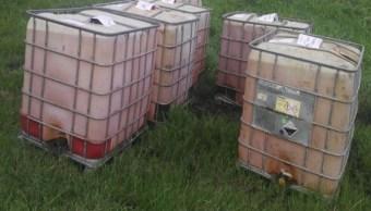 PGR Veracruz decomisa 6 mil litros de hidrocarburos