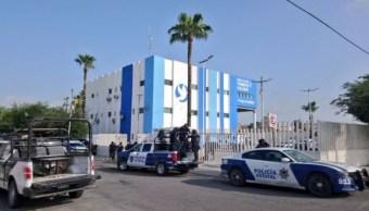 Policías de Reynosa protestan; exigen condiciones para enfrentar a la delincuencia