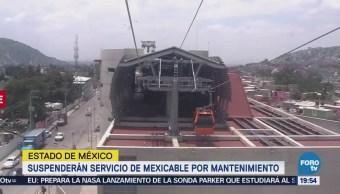 Mantenimiento Suspenden Servicio Mexicable Estado de méxico