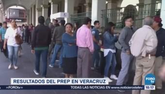 PREP Veracruz confirma tendencia a favor de Cuitláhuac García