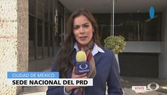 Presidente nacional del PRD votará en Iztapalapa