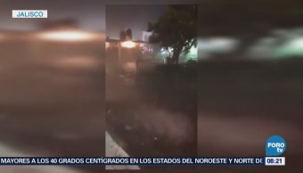 Muere Bebé Tras Granizada Jalisco