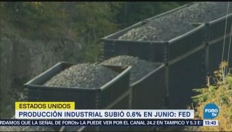 Producción Industrial Eu Sube 0.6 Ciento Fed