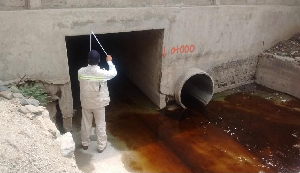 Elementos de Profepa atiende derrame químico en Colima