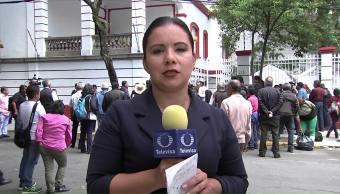 Protestan Activistas Derechos Inmigrantes Frente Casa Amlo