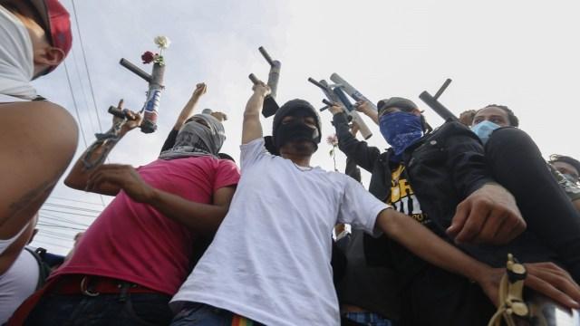 Ortega admite 195 muertos Nicaragua y encapuchados policías