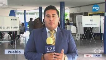 Puebla Reporta Incidentes Durante Proceso Electoral
