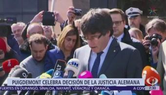 Puigdemont elogia extradición a España por malversación, no por traición