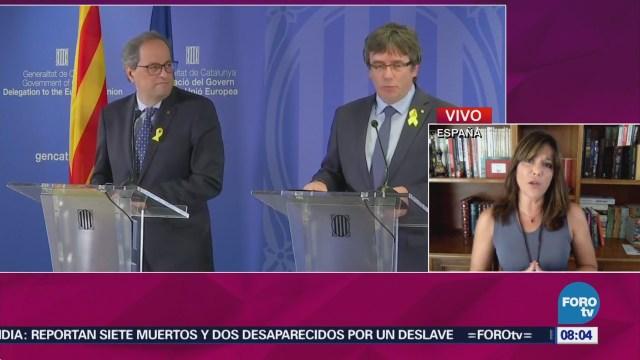 Puigdemont Regresa Bélgica Expresidente Generalitat Bélgica