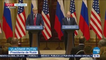 Queremos dar pasos para la paz duradera: Putin