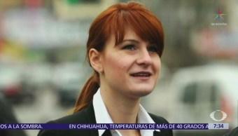 María Butina la presunta espía rusa detenida