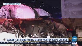 Accidente México Pachuca Deja 13 Muertos