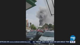 Bomberos Controlan Incendio Coapa