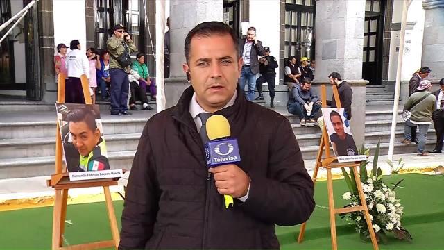 Realizan Homenaje Bomberos Policías Muertos Explosión Tultepec