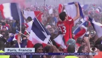 Regresa la calma a Francia luego de disturbios por festejos