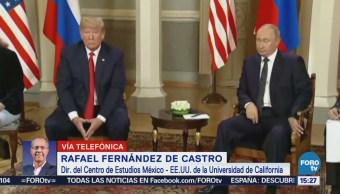 Relaciones Tras Encuentro Trump Putin