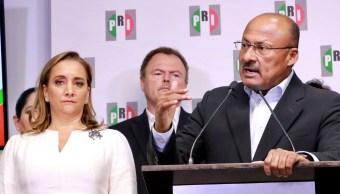 René Juárez Cisneros renuncia a dirigir el PRI