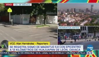 Reportan actividades normales en Buenavista luego de sismo