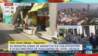 Reportan actividades normales en Naucalpan luego de sismo