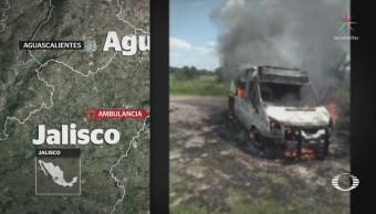 Reportan desaparición de paramédicos en Zacatecas