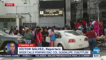Reportan Explosión Juzgados Penal Cuatitlán