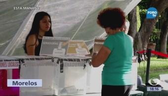 Reportan Molestias Morelos Mal Funcionamiento Casillas Electorales