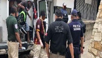 Agentes federales interceptan a 23 indocumentados en Chiapas