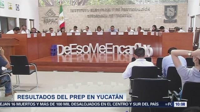 Resuelven problemas en página del PREP de Yucatán