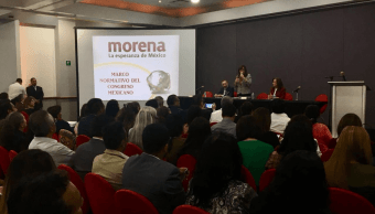 Integrantes de Morena analizan temas para próxima legislatura