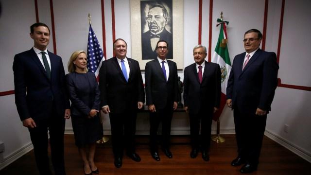 Reunión AMLO y Pompeo, en un marco de respeto, dice Ebrard