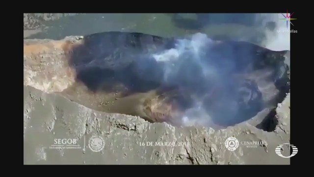 Revelan Nuevas Imágenes Volcán Popocatépetl Cenapred