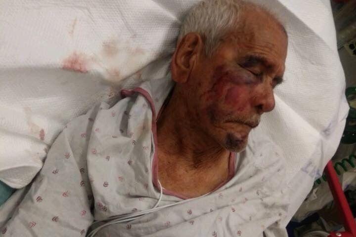Racistas de EEUU golpean brutalmente a un anciano mexicano — Vídeo