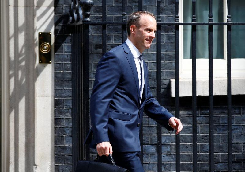 may nombra dominic raab como nuevo ministro britanico brexit