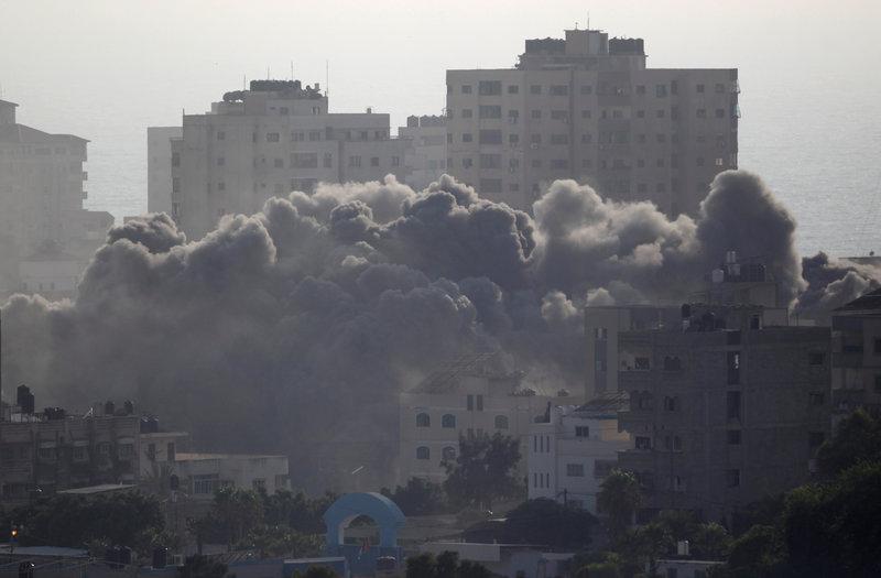 israel militantes gaza fuego estado judio